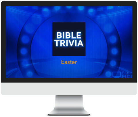 Easter Bible Trivia  Game for Kids