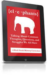 FREE Elephants Youth Ministry Lesson