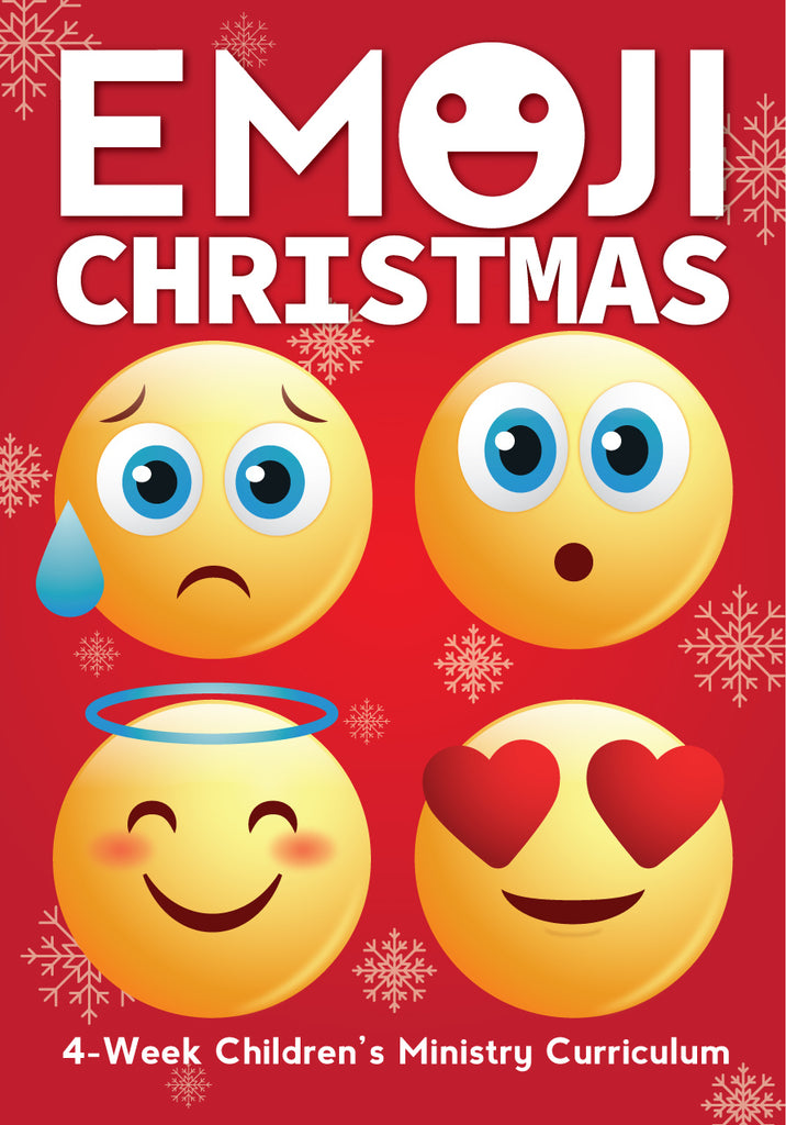 Emoji Christmas 4-Week Children's Ministry Curriculum