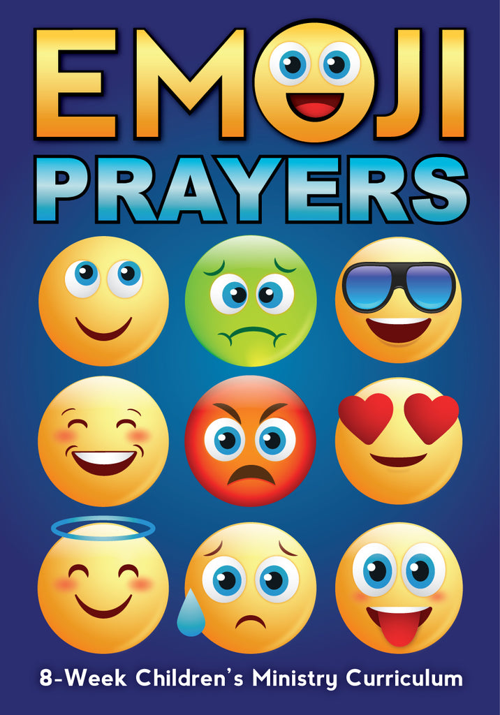 Emoji Prayers 8-Week Children's Ministry Curriculum