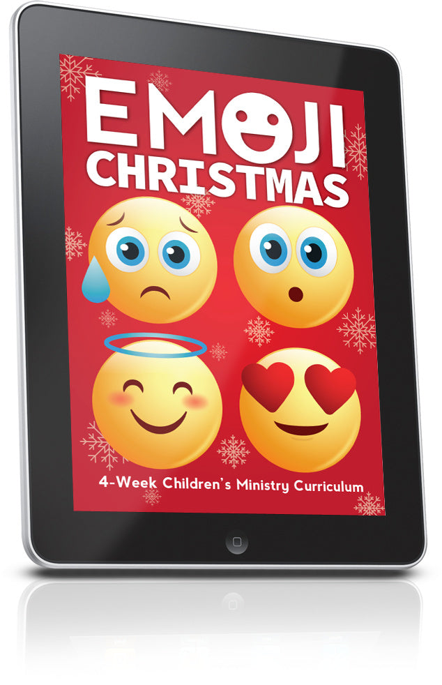 FREE Emoji Christmas Children's Ministry Lesson