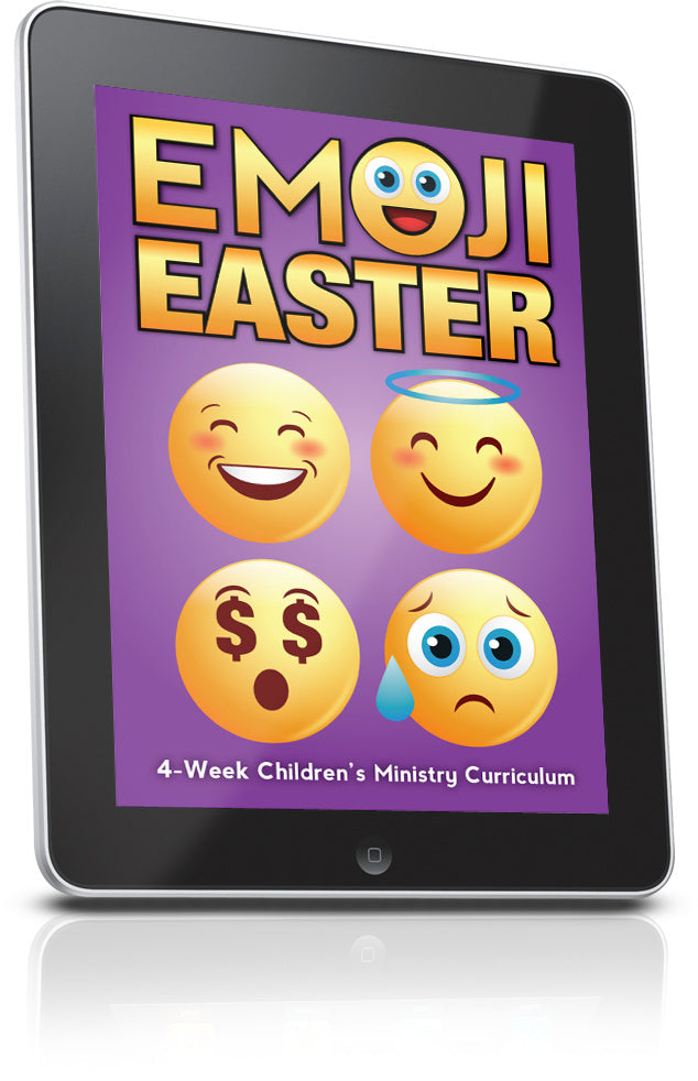 FREE Emoji Easter Children's Ministry Lesson