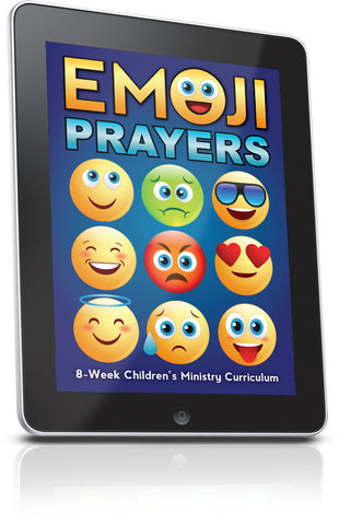 FREE Emoji Prayers Children's Ministry Lesson
