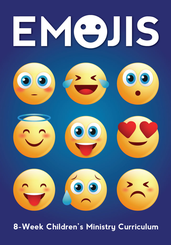 Emojis 8-Week Children's Ministry Curriculum