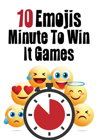 Emojis Minute to Win It Games