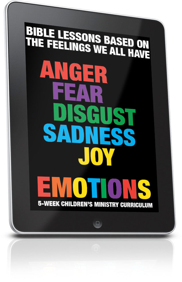 FREE Emotions Children's Ministry Lesson