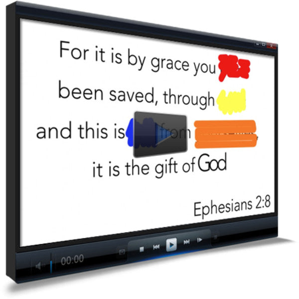 Ephesians 2:8 Memory Verse Video