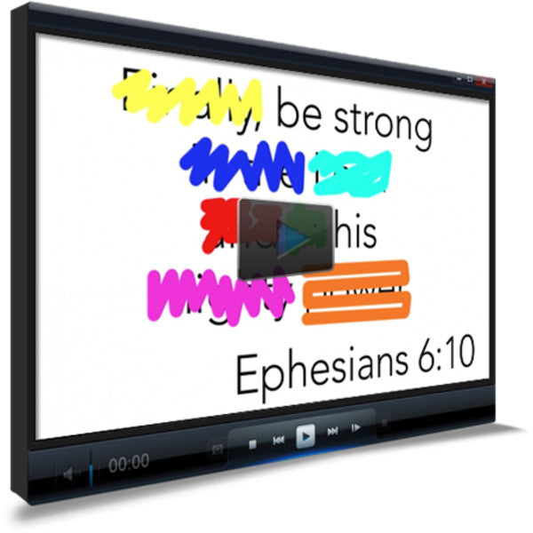 Ephesians 6:10 Memory Verse Video
