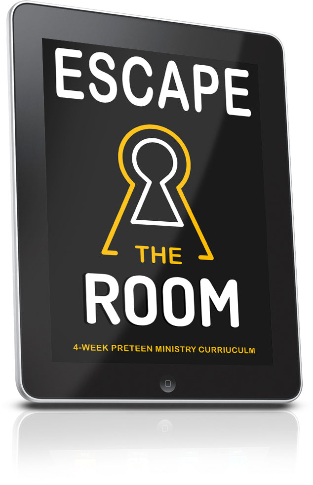 Escape the Room Preteen Ministry Curriculum