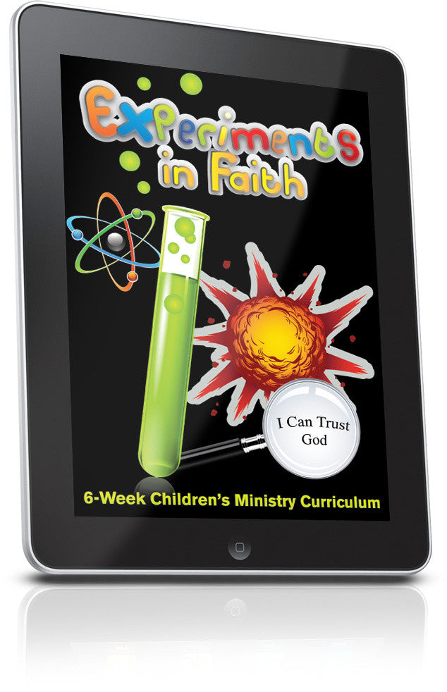 FREE Experiments In Faith Children's Ministry Lesson