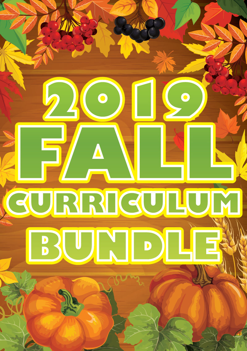 Fall Children's Ministry Curriculum Bundle