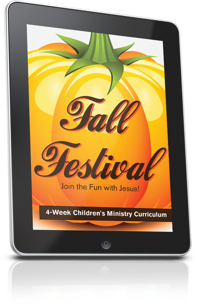 FREE Fall Festival Children's Ministry Lesson
