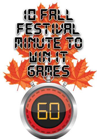 Fall Festival Minute to Win It Games