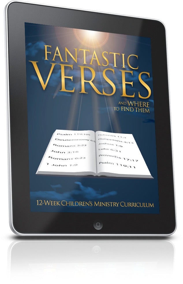 FREE Fantastic Verses and Where To Find Them Lesson