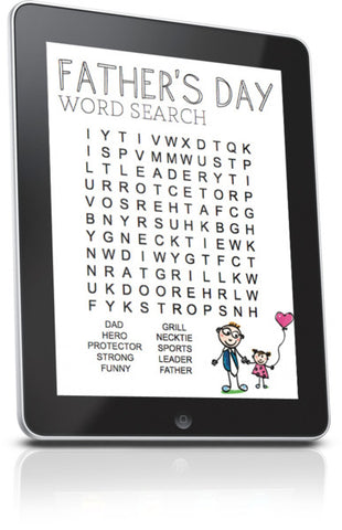 Father's Day Word Search