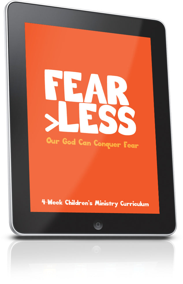 FREE Fear Less Sunday School Lesson