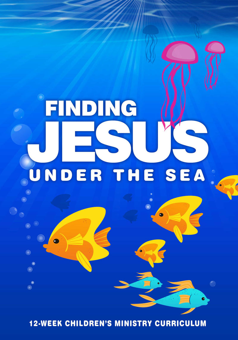 Finding Jesus 12-Week Children's Ministry Curriculum