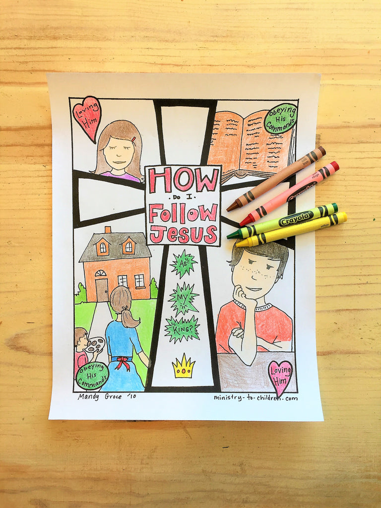 FREE Gospel Coloring Page