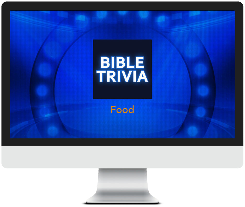 Food Bible Trivia Game for Kids