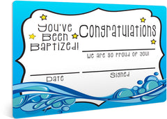 Free Baptism Certificate for Kids