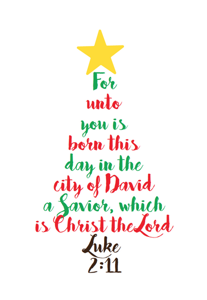 FREE Christmas Tree Poster – Children's Ministry Deals