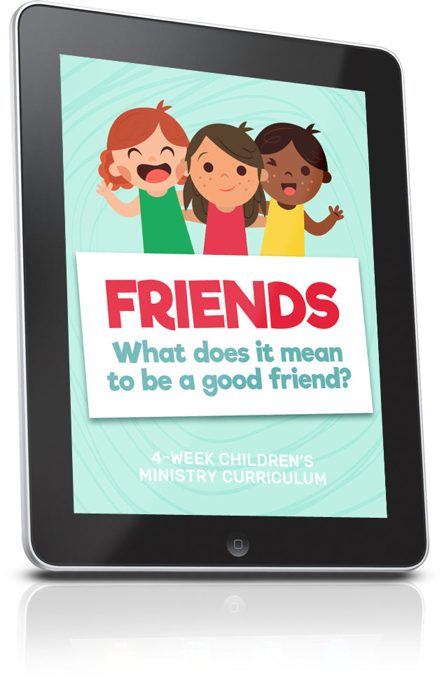 FREEFriends Children's Ministry Lesson