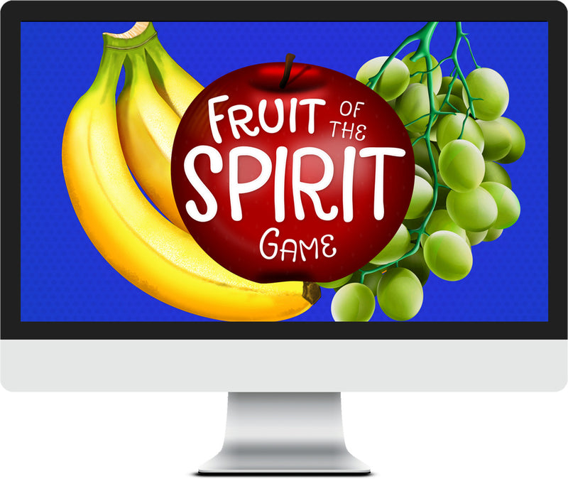 Fruit Of The Spirit Game Video Pack For Kids