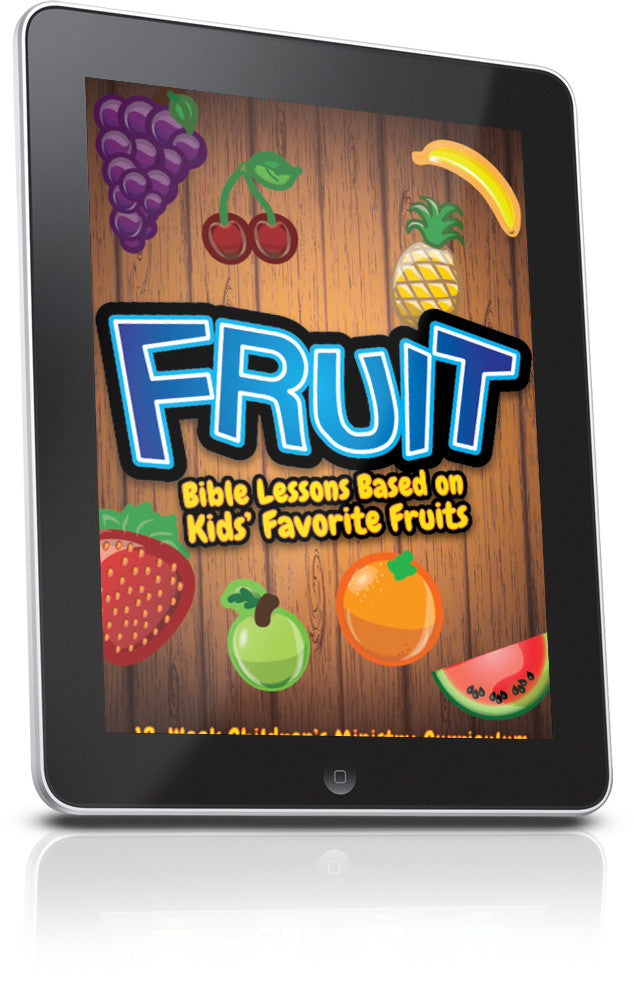 FREE Fruit Children's Ministry Lesson