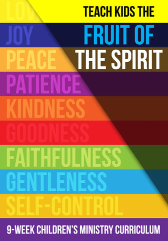 FREE Fruit of the Spirit Children's Ministry Lesson
