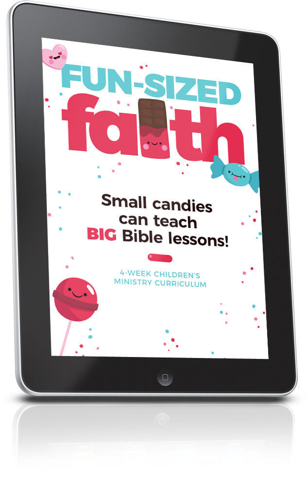 FREE Fun Sized Faith Children's Ministry Lesson