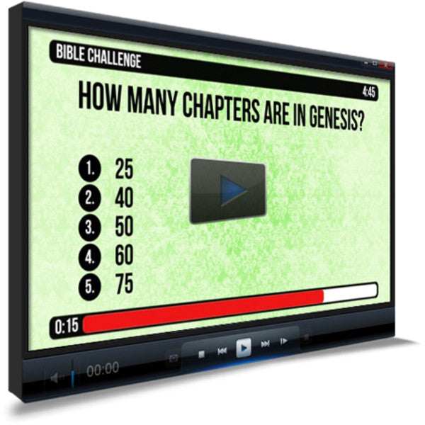 Genesis Overview Bible Trivia for Kids