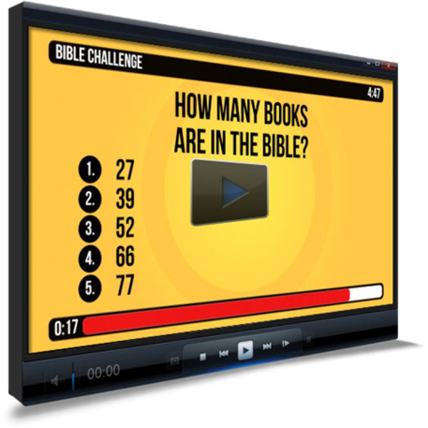 General Bible Trivia For Kids Countdown Video