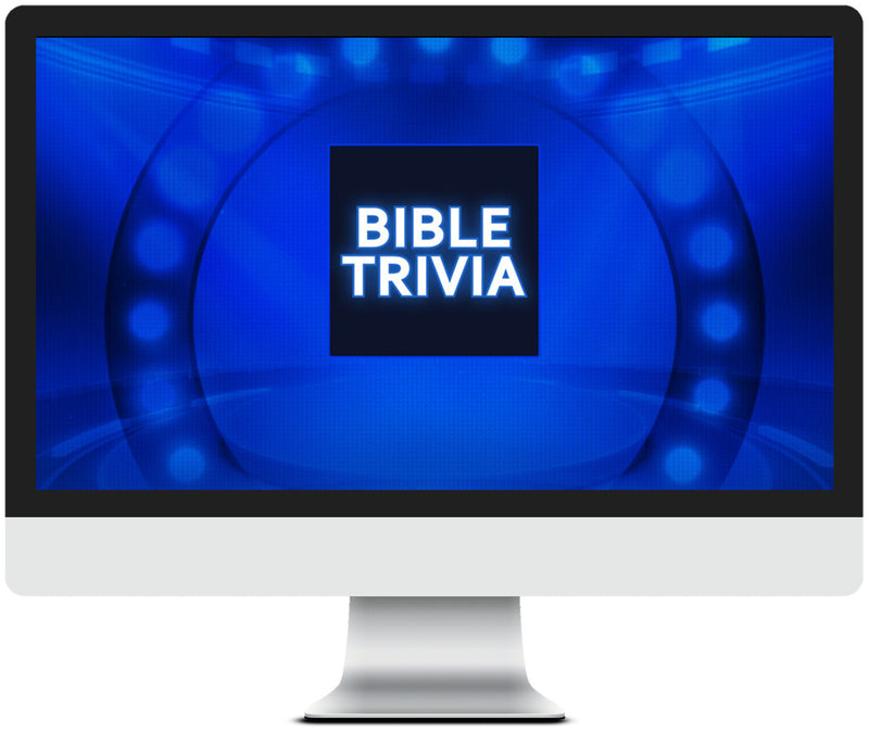 General Bible Trivia Game for Kids