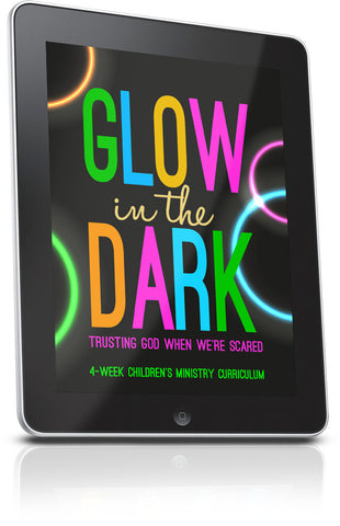 FREE Glow In The Dark Children's Ministry Lesson