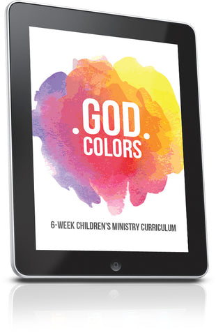 God Colors Children's Ministry Lesson