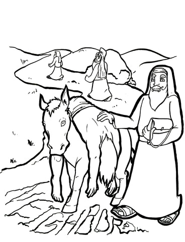 Good Samaritan Coloring Page – Children\'s Ministry Deals