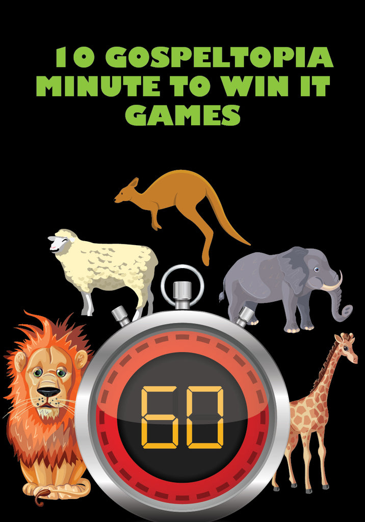 Gospeltopia Minute to Win it Games