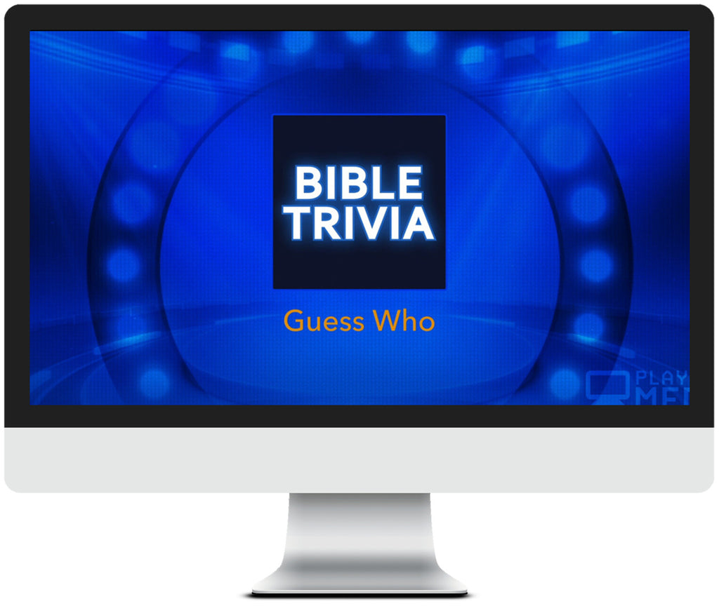 Guess Who Bible Trivia Game for Kids