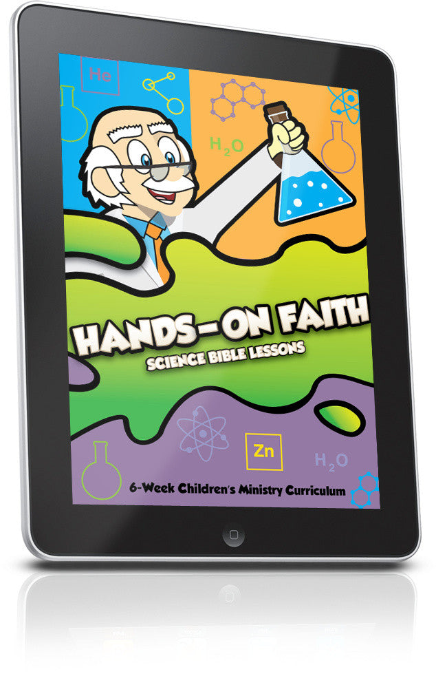 FREE Hands On Faith Children's Ministry Curriculum Lesson