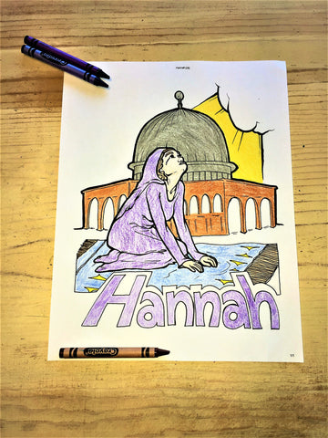 FREE Bible Characters Coloring