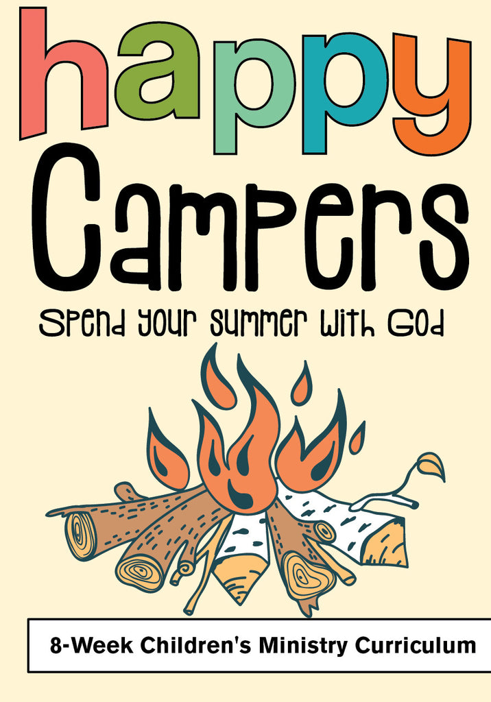 Happy Campers 8-Week Children's Ministry Curriculum