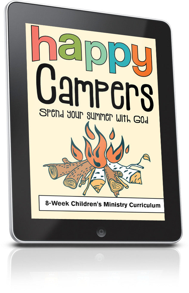 FREE Happy Campers Children's Ministry Lesson