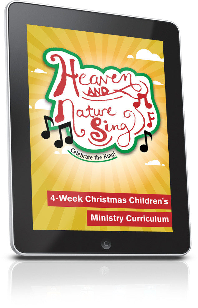 FREE Heaven and Nature Sing Children's Ministry Lesson