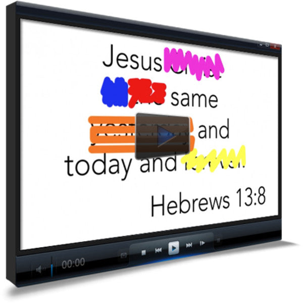 Hebrews 13:8 Memory Verse Video