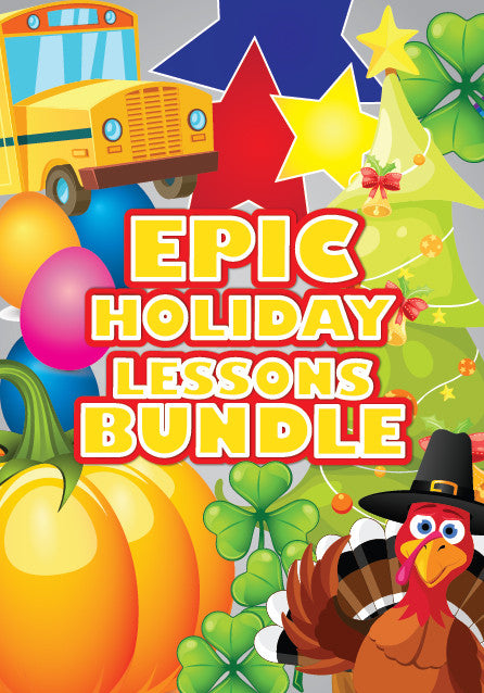 Holiday Children's Ministry Lessons Bundle