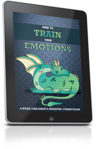FREE How to Train Your Emotions Children's Ministry Lesson