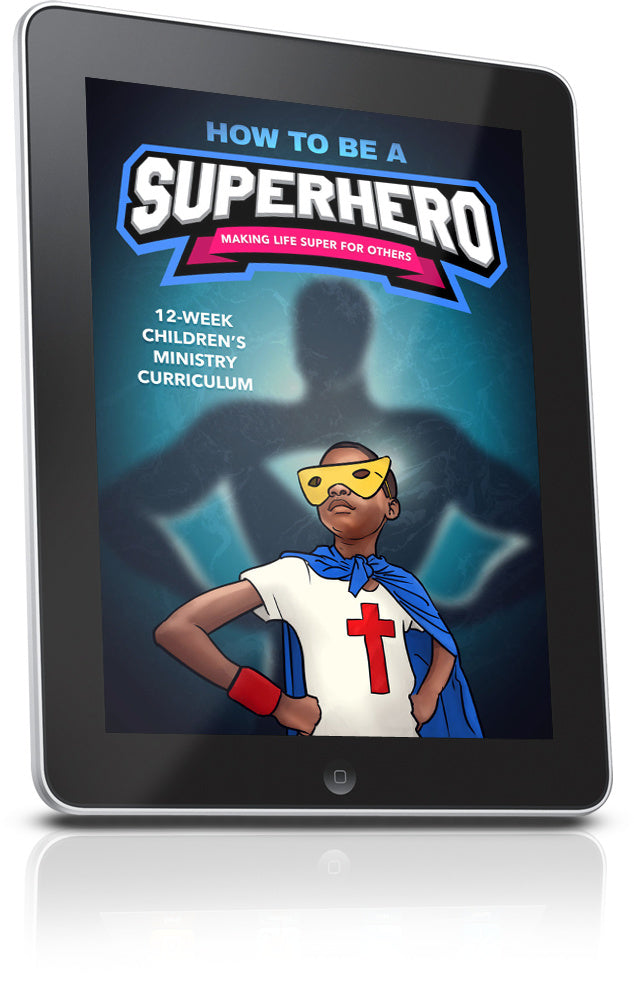 FREE How To Be a Superhero Children's Ministry Lesson