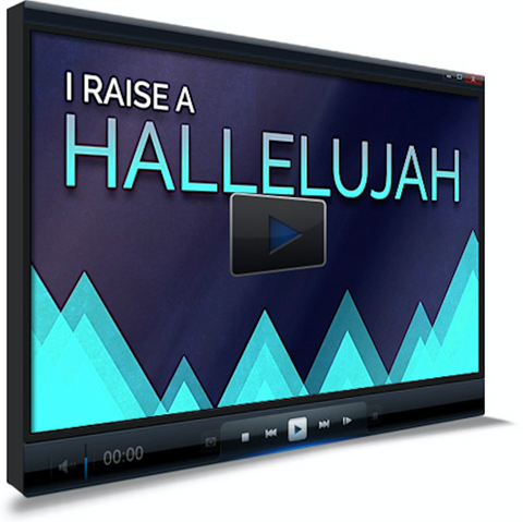 Raise A Hallelujah Worship Video For Kids