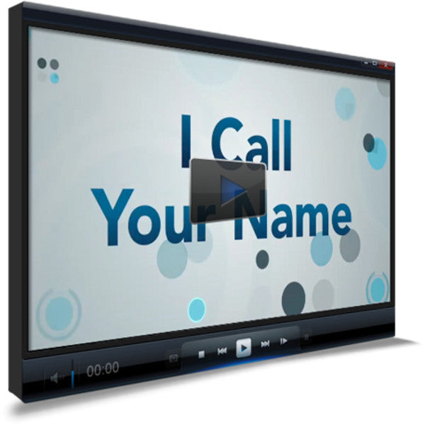 I Call Your Name Children's Ministry Worship Video