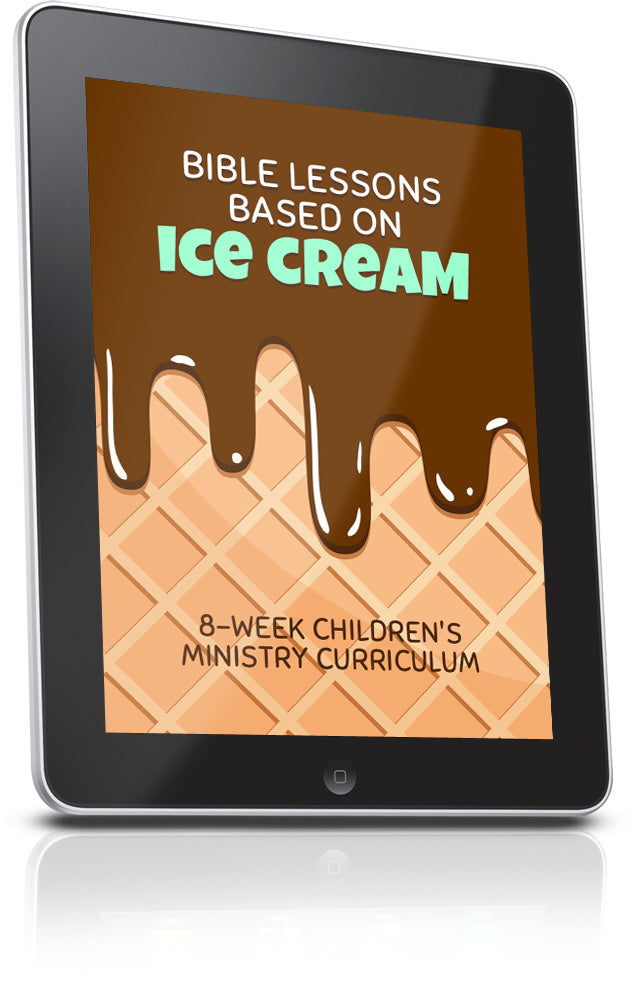 FREE Ice Cream Children's Ministry Lesson